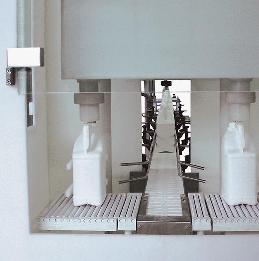 Máquina envasadora volumétrica