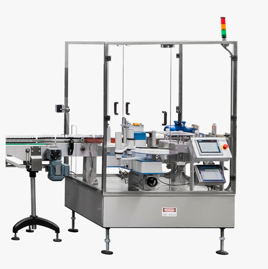 Máquina rotuladora industrial