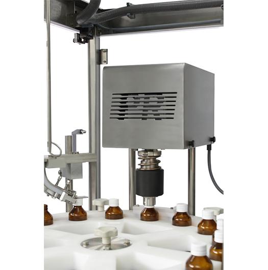 Máquina tampadora de frascos