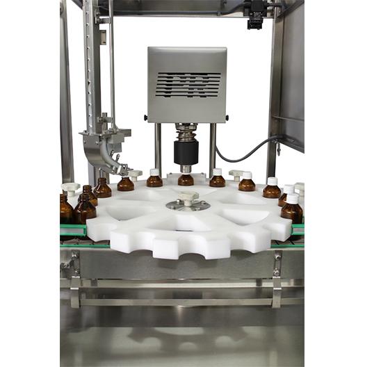 Máquina tampadora de garrafas